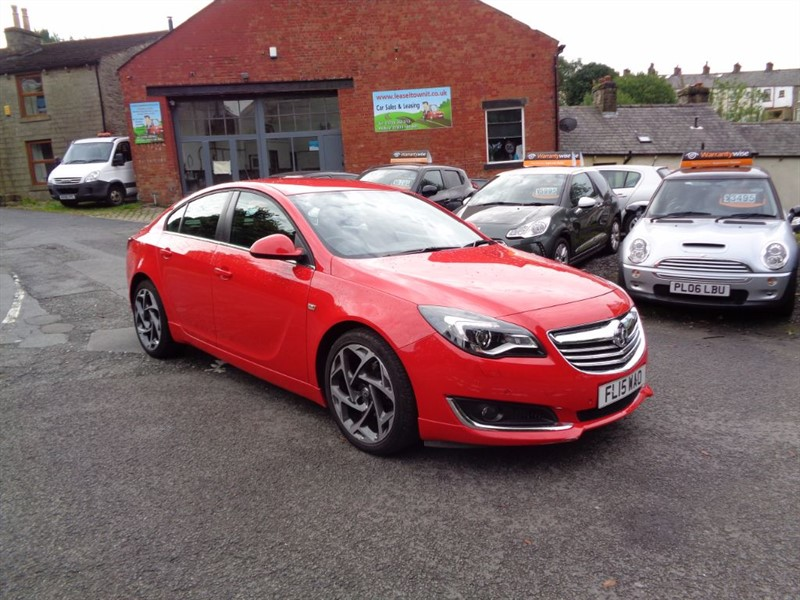 used Vauxhall Insignia LIMITED EDITION CDTI ECOFLEX S/S in rossendale-lancashire