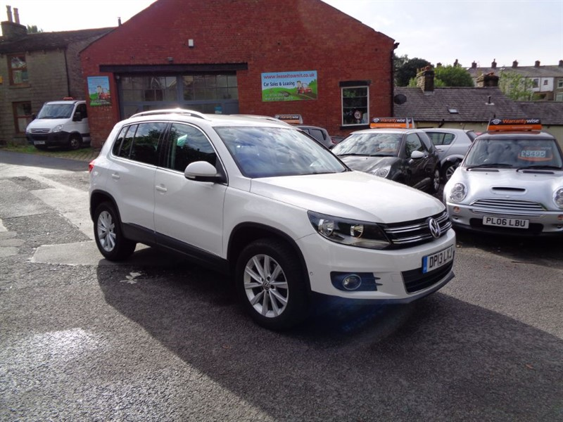 used VW Tiguan SE TDI BLUEMOTION TECHNOLOGY 4MOTION DSG in rossendale-lancashire