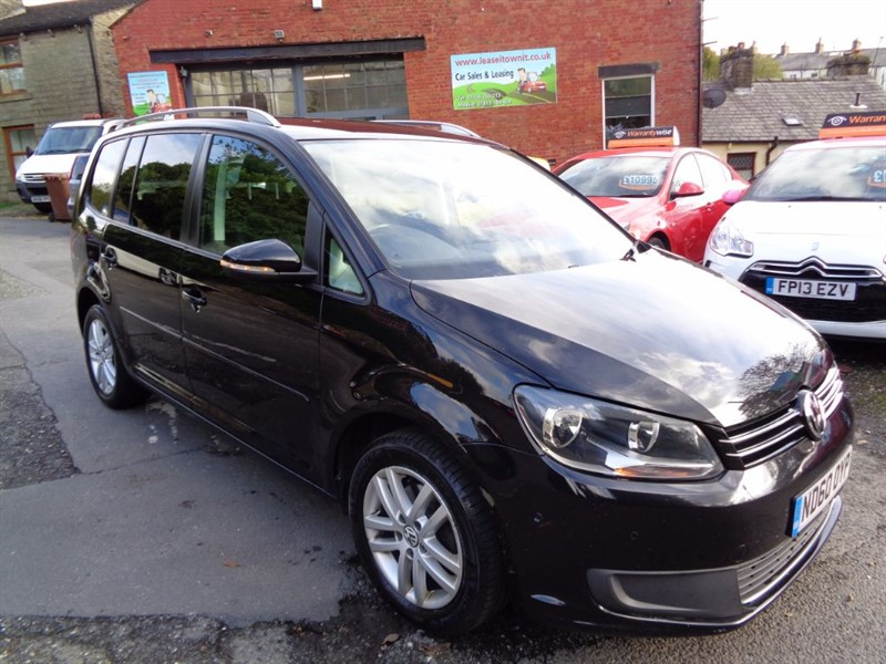 used VW Touran SE TDI in rossendale-lancashire