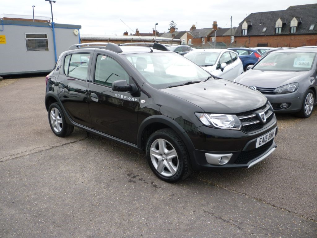 used Dacia Sandero 0.9 Stepway Laureate TCE in in-colchester-and-essex