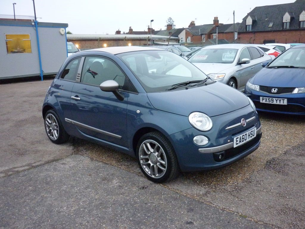 used Fiat 500 1.4  By Diesel Convertible in in-colchester