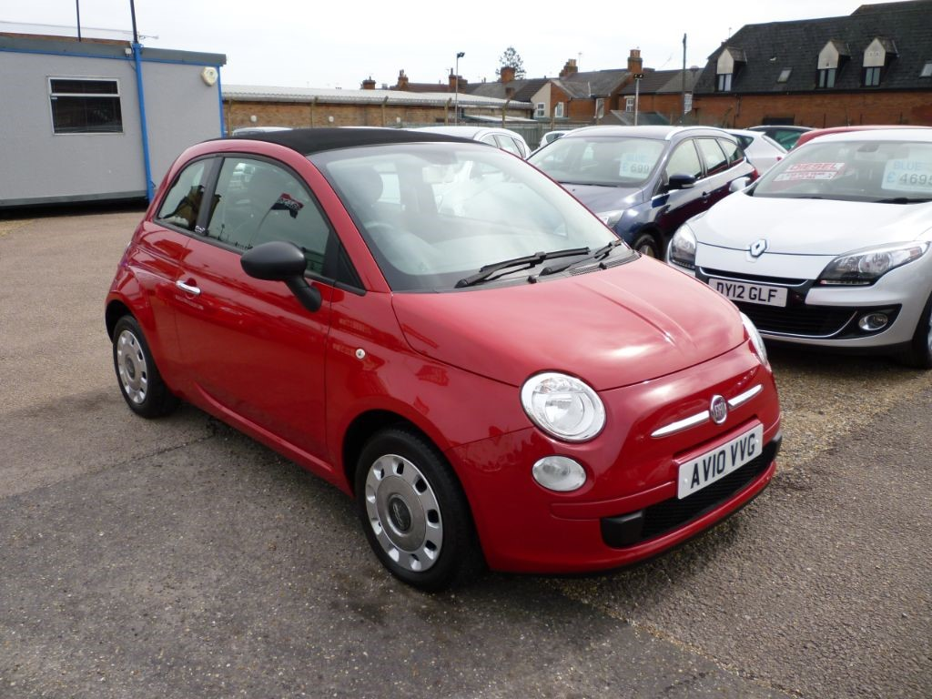 used Fiat 500 1.2 C Pop Convertible in in-colchester-and-essex