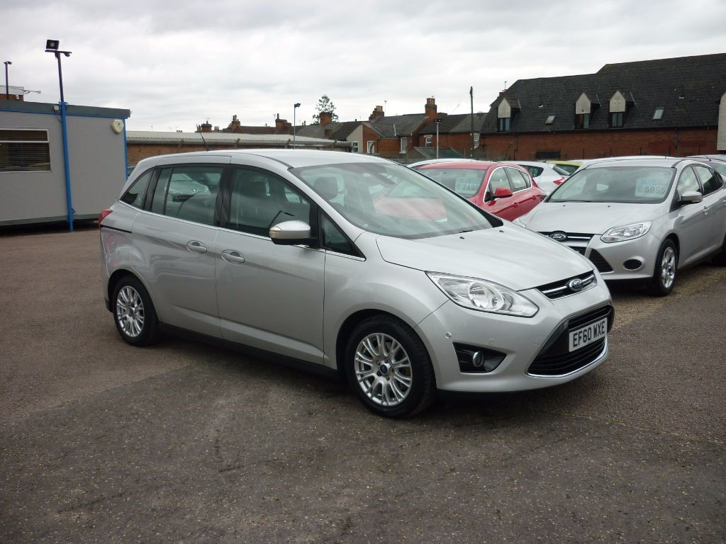 used Ford C-Max 1.6 Grand Titanium TDCI in in-colchester-and-essex