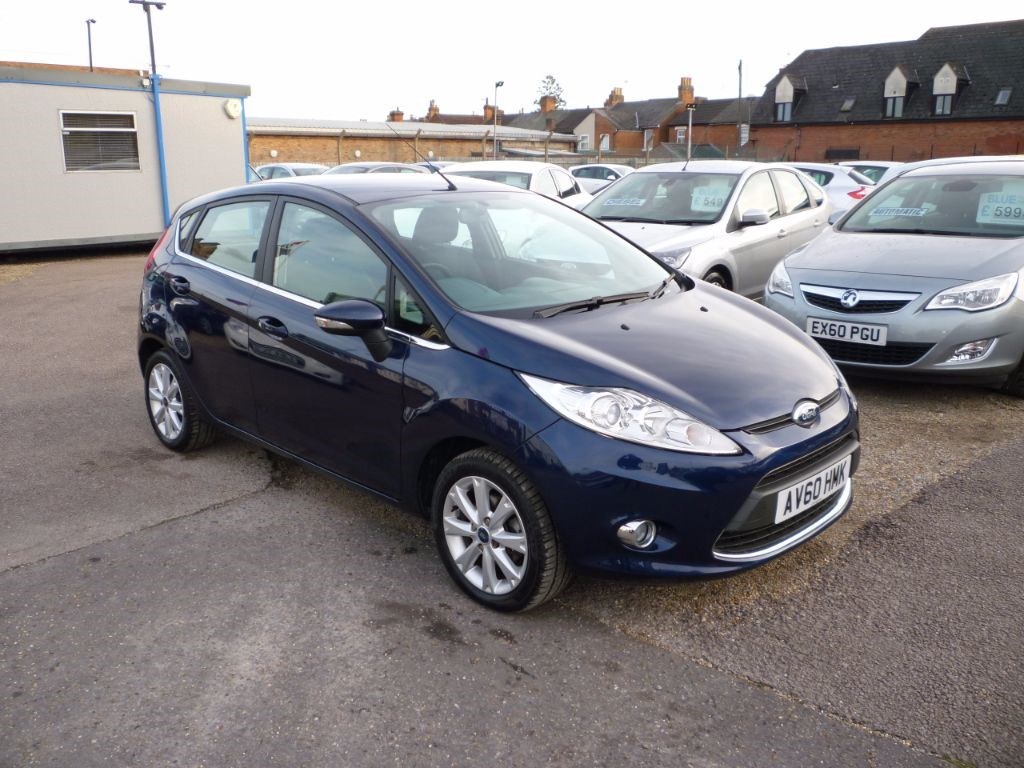 used Ford Fiesta 1.2 Zetec 5Dr Alloys Low mileage in in-colchester-and-essex