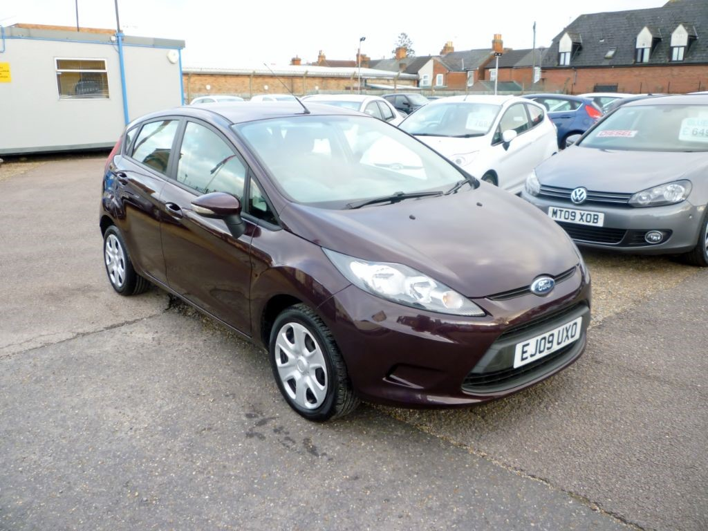 used Ford Fiesta 1.2 Style Plus 5Dr in in-colchester-and-essex