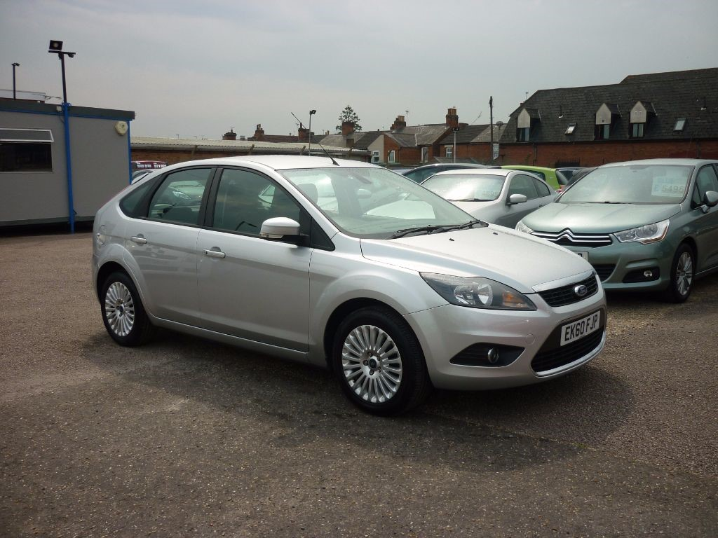 used Ford Focus 1.6 Titanium 5Dr Alloys in in-colchester