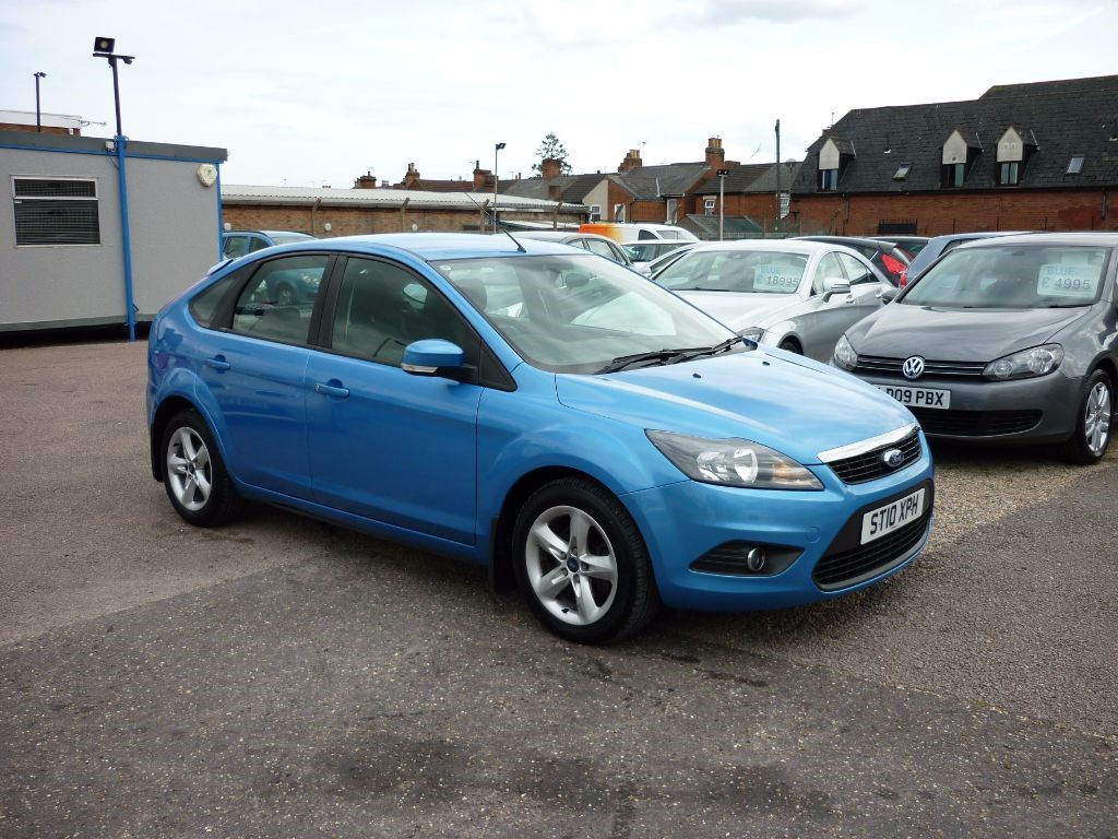 used Ford Focus 1.6 Zetec Automatic in in-colchester