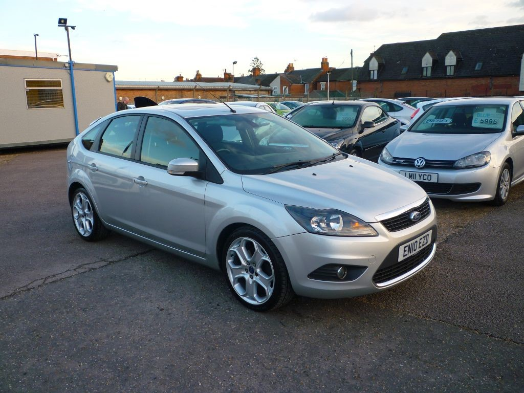 used Ford Focus 2.0 Titanium 5Dr Sat Nav in in-colchester-and-essex