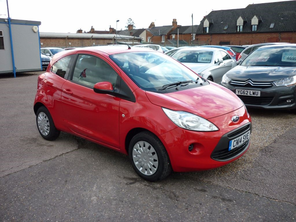 used Ford KA 1.2 Edge 3Dr in in-colchester