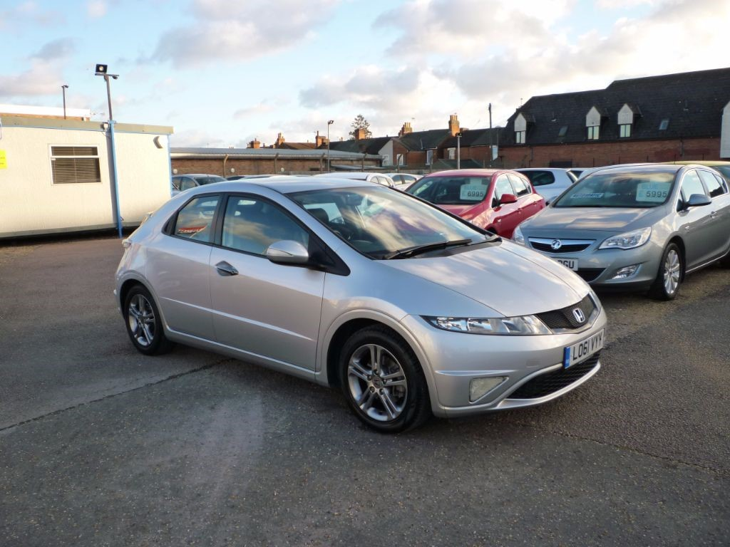 used Honda Civic 1.3 I-VTEC SI 5Dr in in-colchester-and-essex
