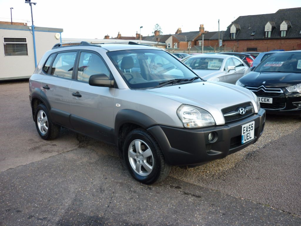 used Hyundai Tucson 2.0 GSI CRTD 4WD Low Mileage in in-colchester-and-essex