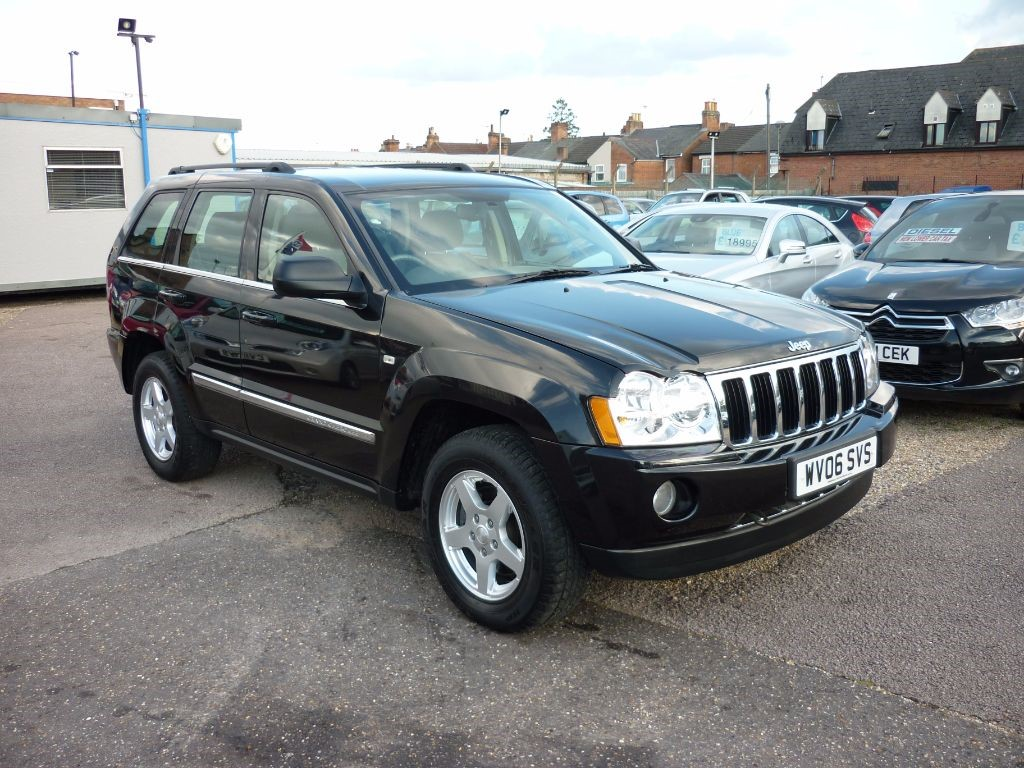 used Jeep Grand Cherokee 3.0 V6 CRD LIMITED Automatic in in-colchester