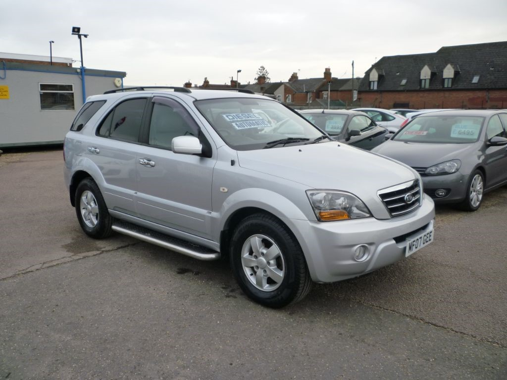 used Kia Sorento 2.5 XT 5Dr Alloys Leather in in-colchester-and-essex