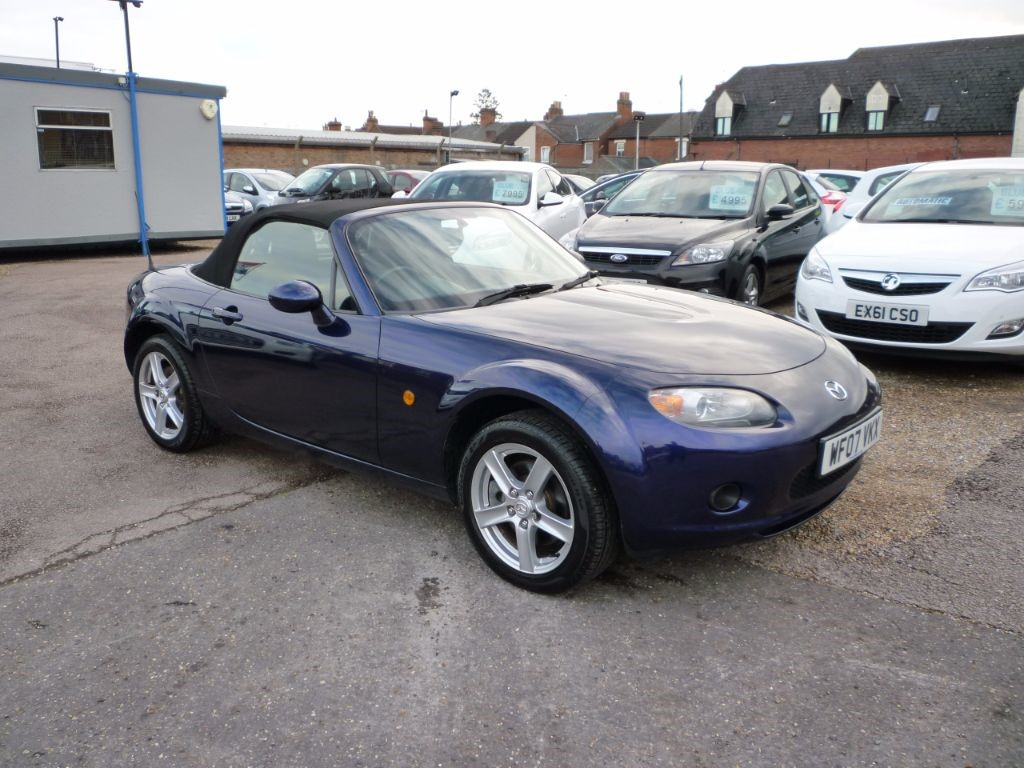 used Mazda MX-5 1.8 MX-5 Convertible in in-colchester-and-essex