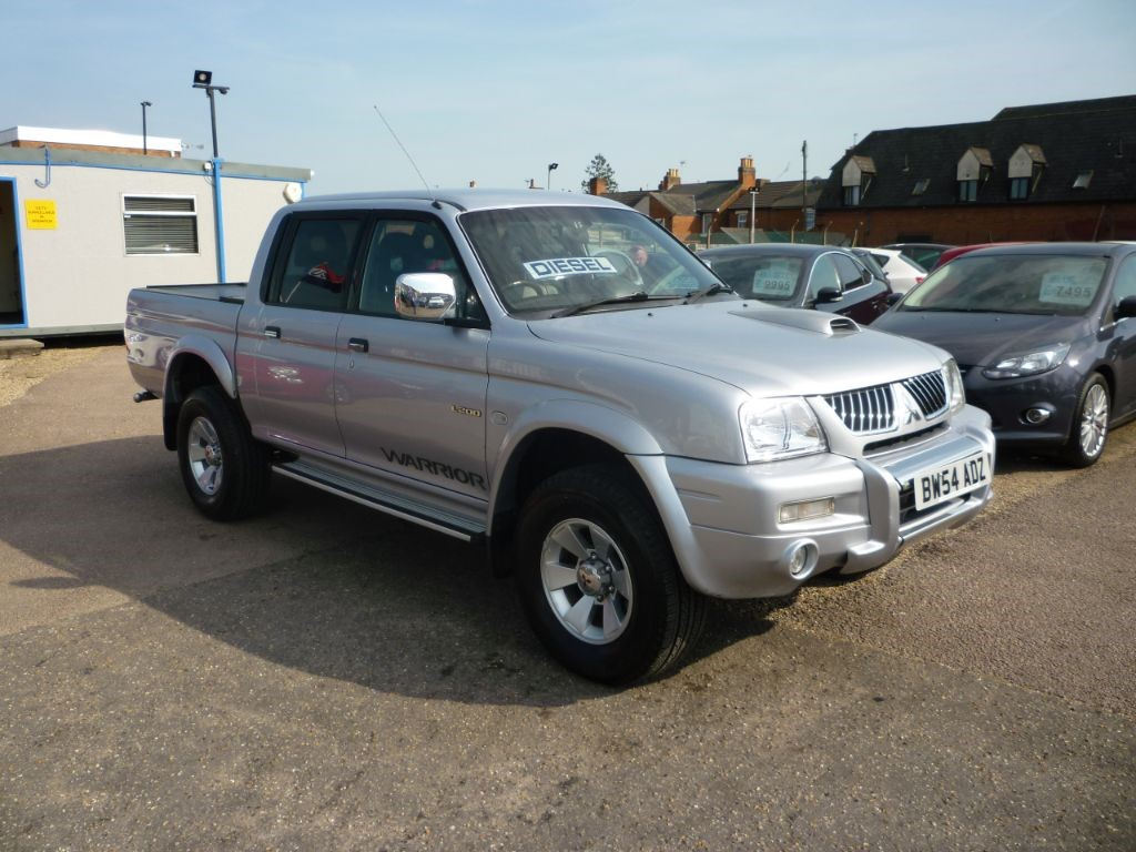 used Mitsubishi L200 TD 4WD LWB WARRIOR DCB in in-colchester-and-essex