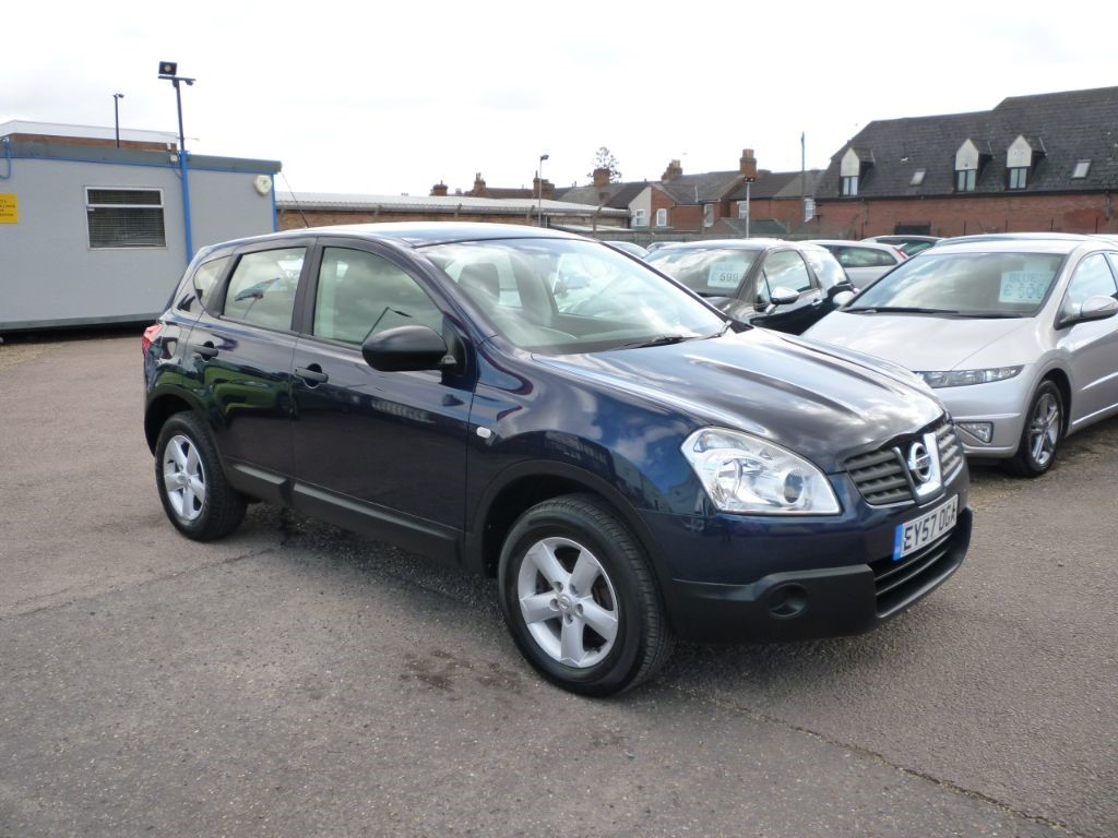 used Nissan Qashqai 1.6 Visia 5Dr in in-colchester-and-essex