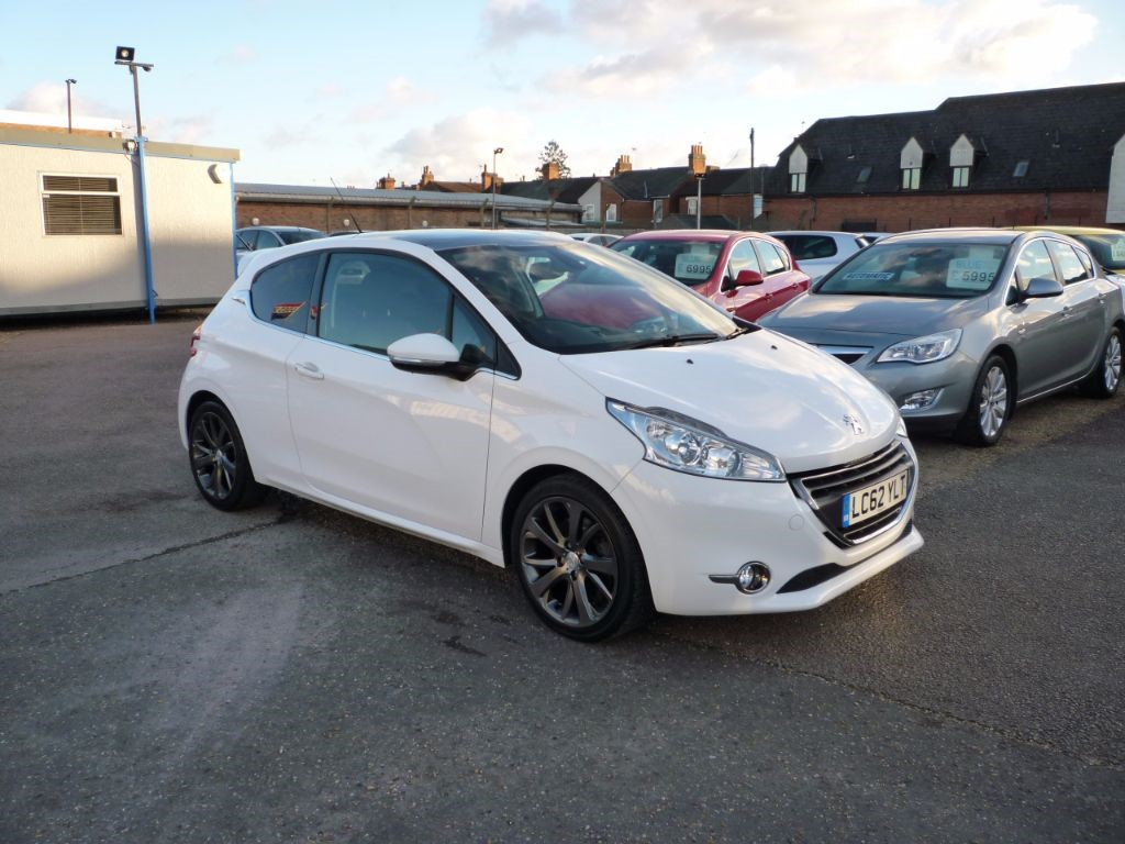 used Peugeot 208 1.6 Feline THP 3Dr Sat Nav in in-colchester-and-essex