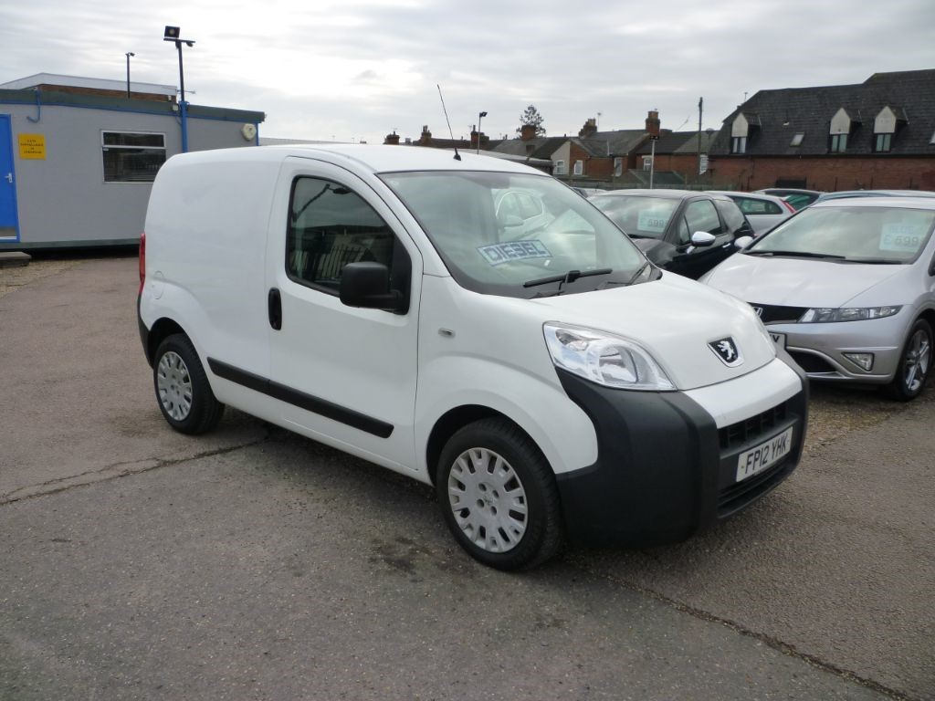 used Peugeot Bipper 1.2 HDI Professional No Vat in in-colchester-and-essex
