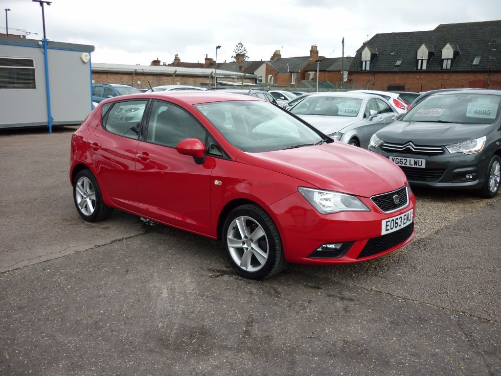 used SEAT Ibiza 1.4 Toca 5Dr Alloys in in-colchester