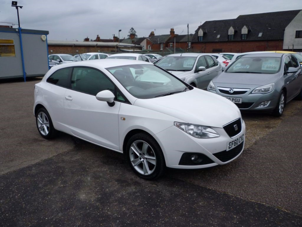 used SEAT Ibiza 1.4 Sport 3Dr Alloys in in-colchester-and-essex