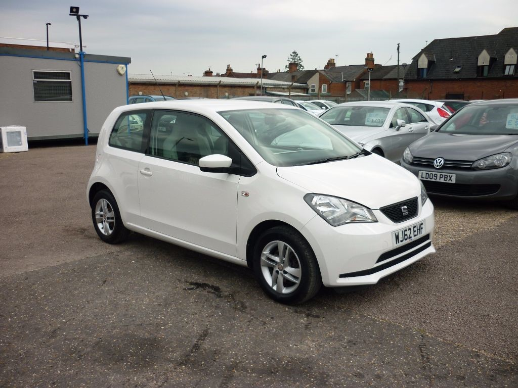 used SEAT Mii 1.0 SE White in in-colchester