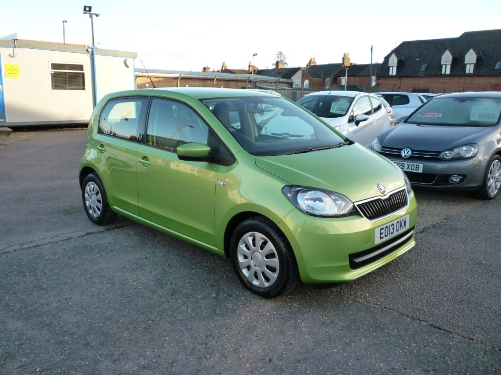 used Skoda Citigo 1.0 SE Greentech in in-colchester-and-essex