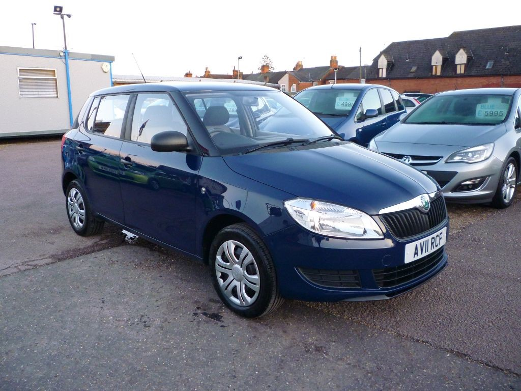 used Skoda Fabia 1.2 S 6V 5Dr in in-colchester-and-essex