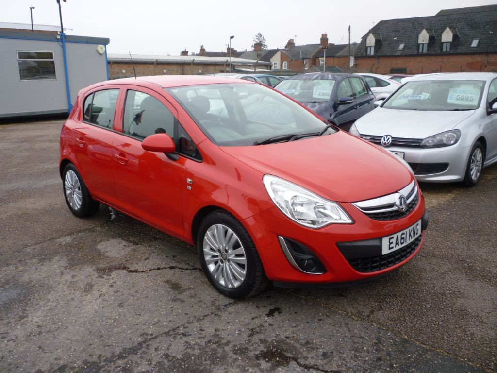 used Vauxhall Corsa 1.2 5Dr Exite Alloys in in-colchester-and-essex