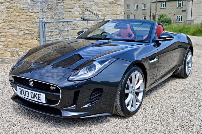 used Jaguar F-Type V6 S in salford-oxfordshire