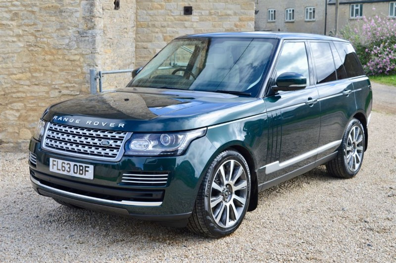 used Land Rover Range Rover 4.4 SDV8 Vogue SE - New Main Dealer Engine & Turbos in June in salford-oxfordshire