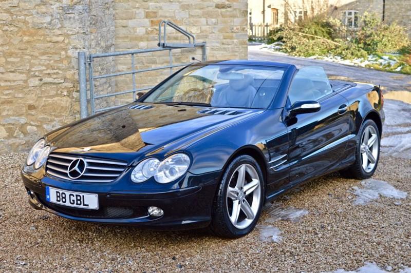 used Mercedes SL500 SL500  in salford-oxfordshire