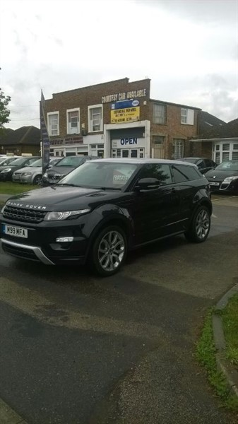used Land Rover Range Rover Evoque SI4 DYNAMIC in sittingbourne-kent