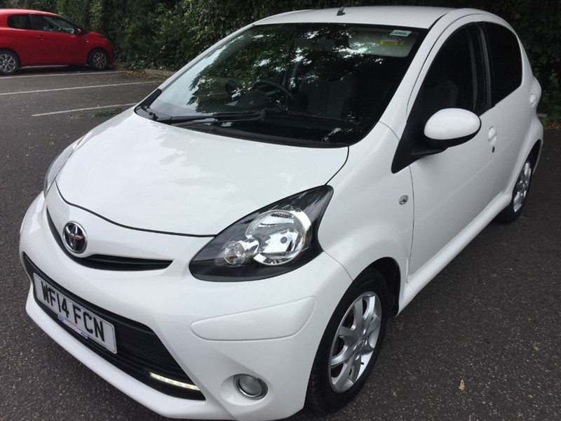 used Toyota Aygo VVT-I MODE AC FROM �24.54 PER WEEK only �200 deposit in rainham-kent