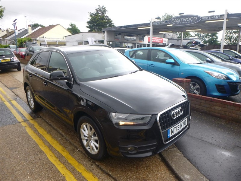 used Audi Q3 TDI SE in Essex