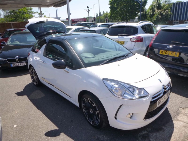 used Citroen DS3 DSTYLE PLUS in Essex