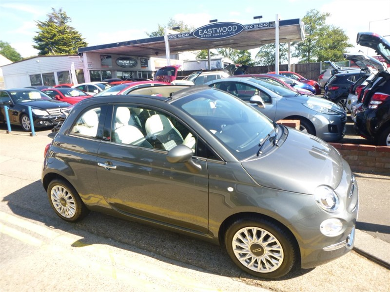 used Fiat 500 C LOUNGE in Essex