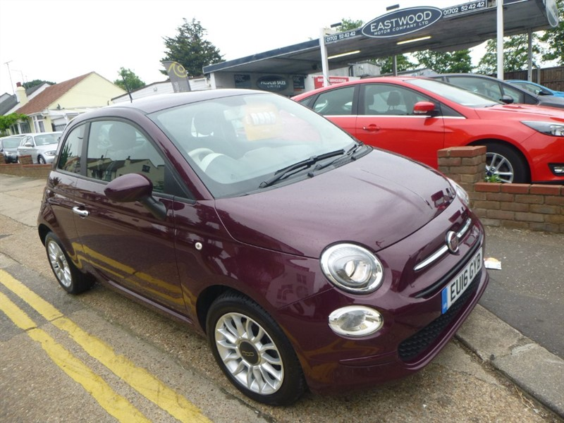 used Fiat 500 POP STAR in Essex