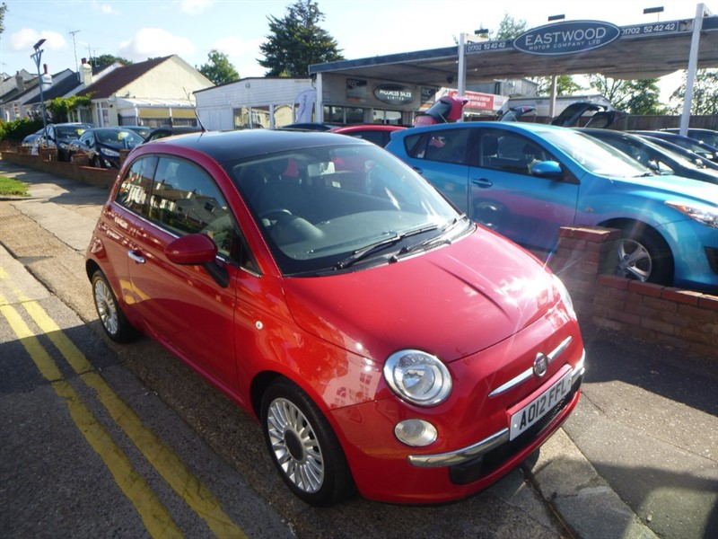 used Fiat 500 MULTIJET LOUNGE in Essex