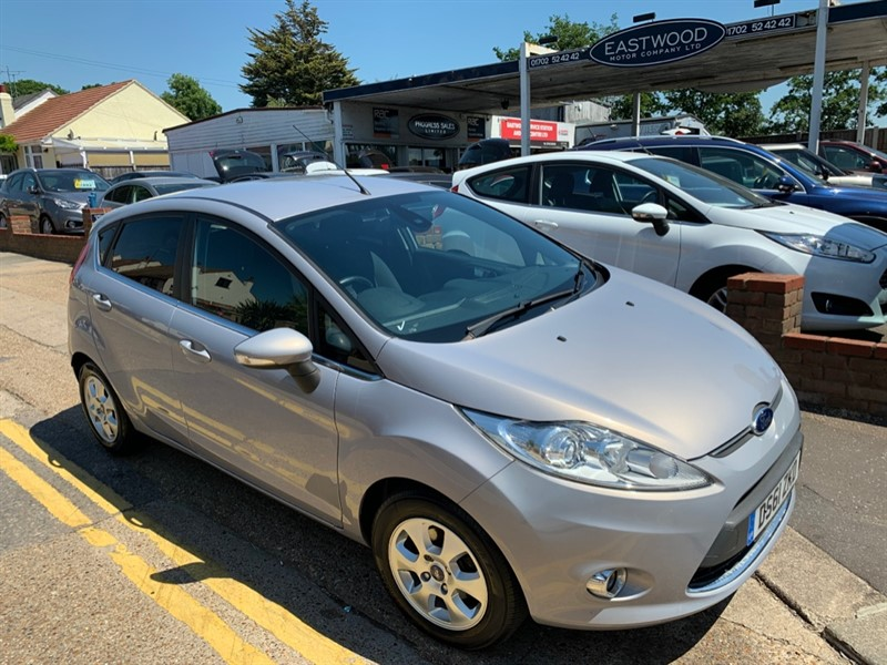 used Ford Fiesta TITANIUM ECONETIC TDCI in Essex