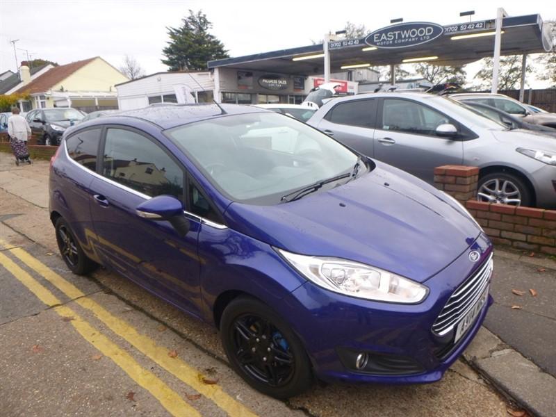 used Ford Fiesta ZETEC in Essex