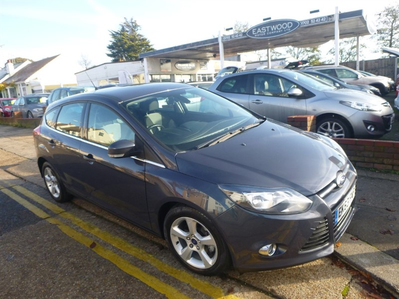 used Ford Focus ZETEC NAVIGATOR ECONETIC TDCI in Essex