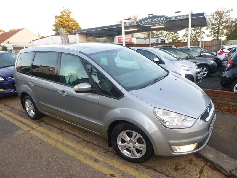 used Ford Galaxy ZETEC TDCI (125PS) in Essex