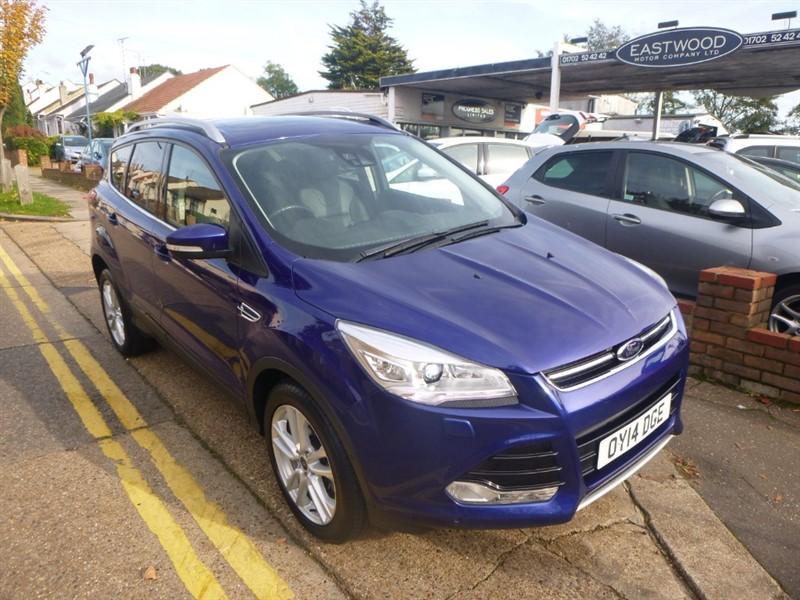 used Ford Kuga TITANIUM X TDCI in Essex