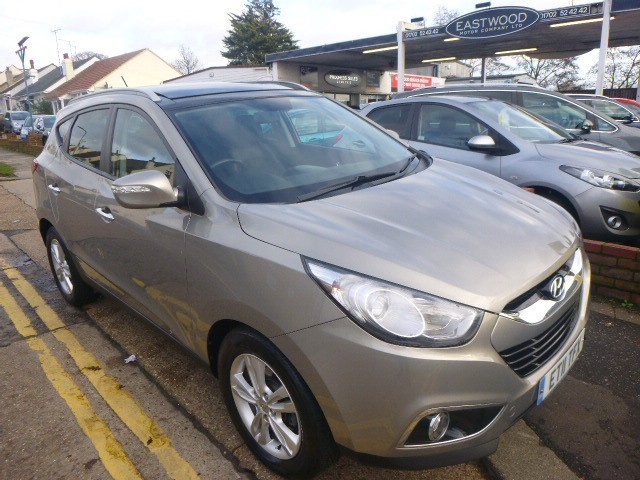 used Hyundai ix35 CRDI PREMIUM in Essex