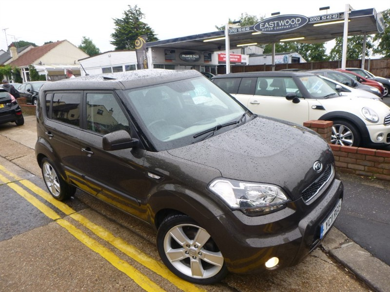 used Kia Soul CRDI SHAKER in Essex