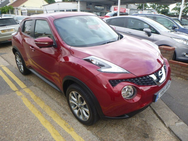 used Nissan Juke TEKNA XTRONIC in Essex