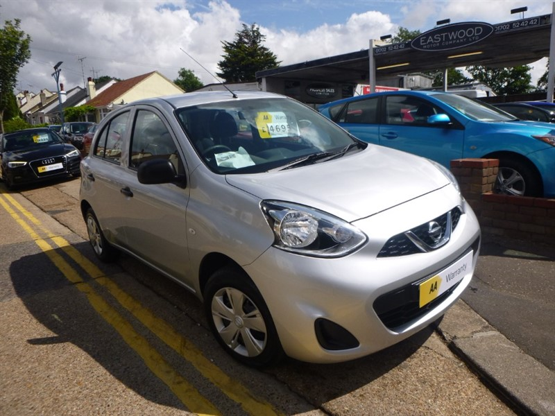 used Nissan Micra VISIA in Essex