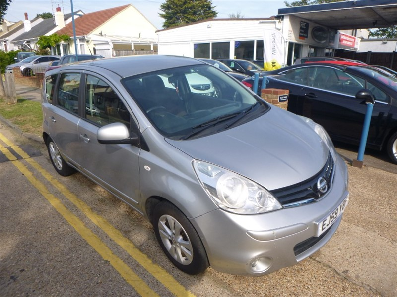 used Nissan Note ACENTA in Essex