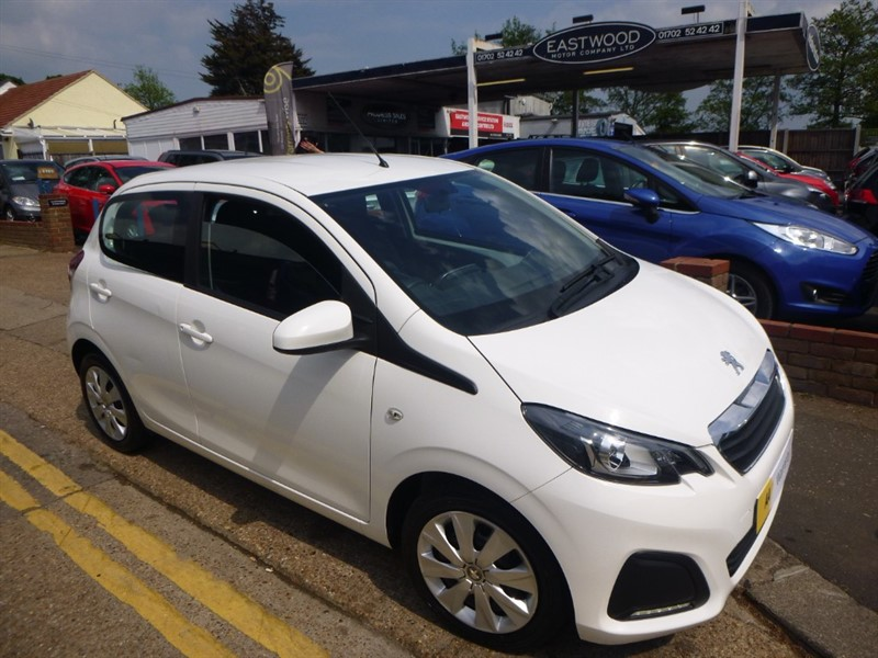 used Peugeot 108 ACTIVE in Essex