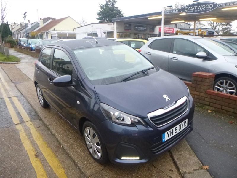 used Peugeot 108 ACTIVE in Essex